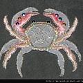 衣_C1357_貼布繡_螃蟹-2