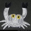 衣_C1357_貼布繡_螃蟹-3