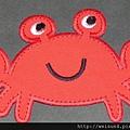 衣_C1357_貼布繡_螃蟹-4