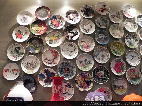 松葉園餐廳_DSCN0087_陶藝.JPG