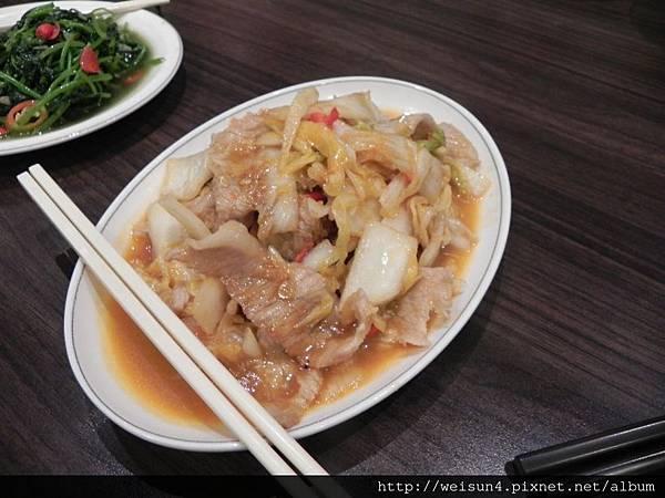 松葉園餐廳_DSCN0142_黃金泡菜松阪肉.JPG