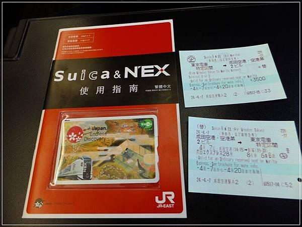 西瓜卡+來回套票5500日元