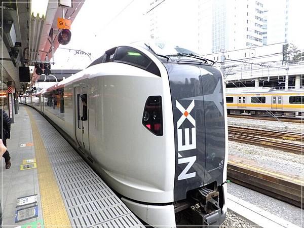 新宿車站到著