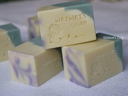 青黛馬賽皂