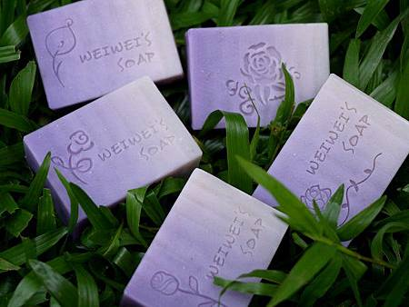 紫黛漸層皂