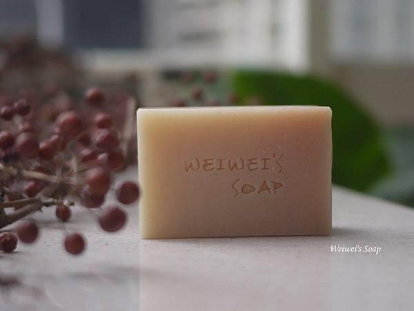 茜草漸層皂
