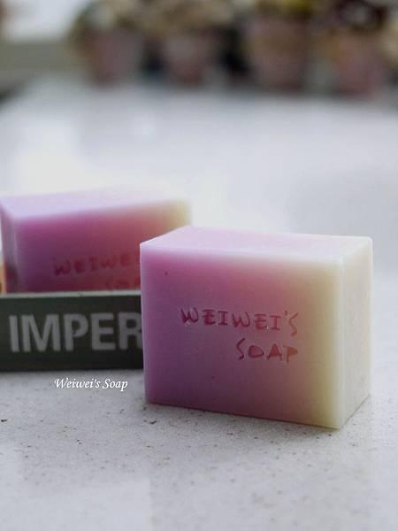 櫻花漸層皂