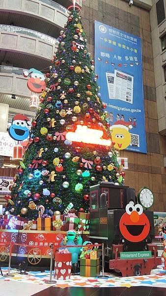1127北車聖誕樹