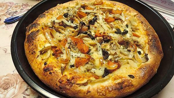 1129pizza 南瓜雞肉