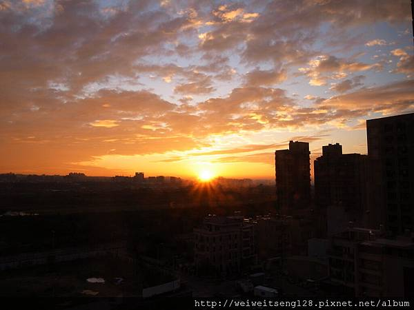 2012情人節的夕陽
