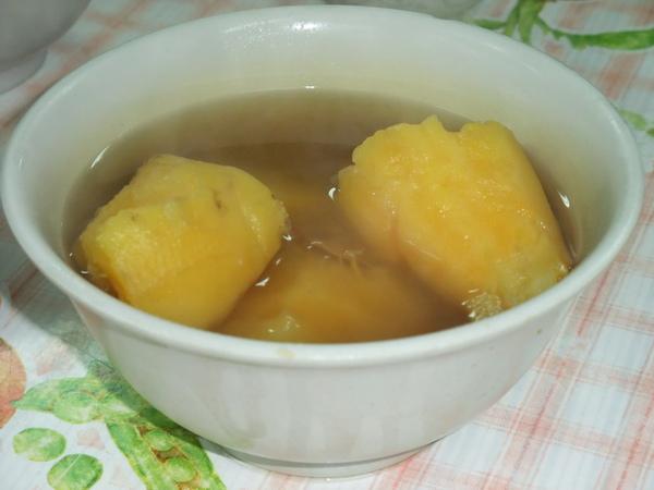 無敵好喝的地瓜湯