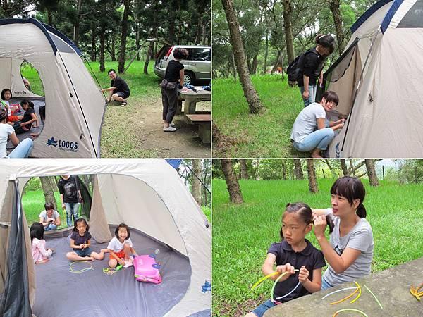 00057-28《小米班遊之露營好累 》