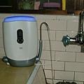 過濾完成~3M UVA1000紫外線殺菌淨水器