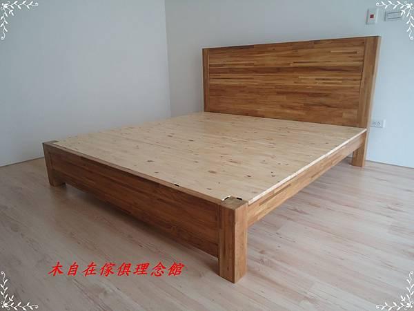 柚木床含背板(四柱腳)1.JPG