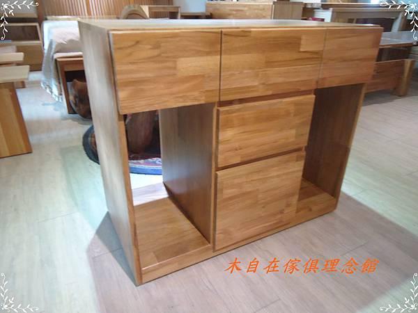 柚木雙人電腦桌(二)5.JPG