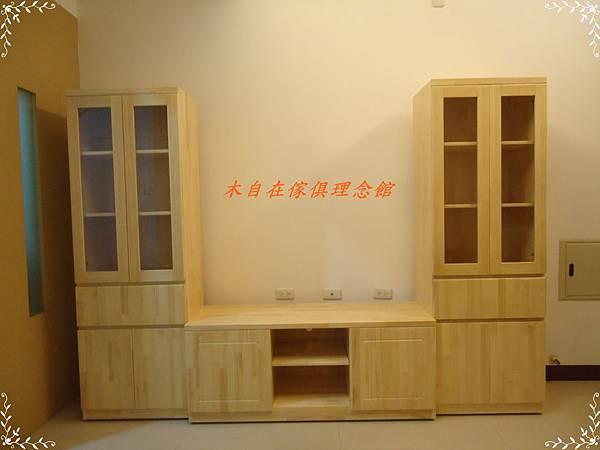 松木電視櫃玻璃櫃.JPG