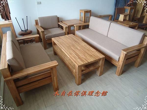 柚木厚實款沙發1.JPG