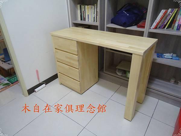紐松二柱腳書桌1.JPG