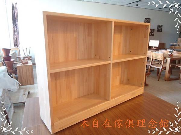 紐松書櫃 1.JPG