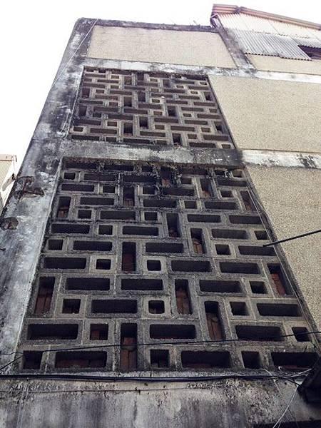 空心磚舊外牆