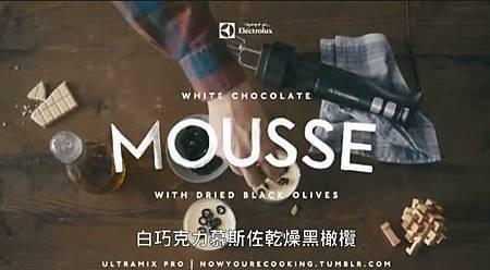 白巧克力慕斯