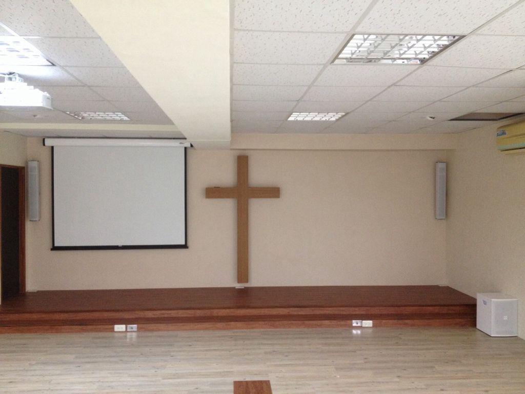 宜蘭教會音響設備完工