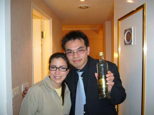 Garcia 送的酒