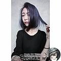 神秘髮色紫灰色