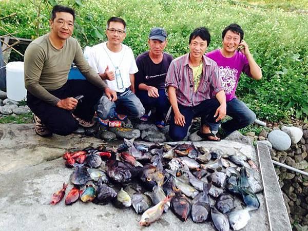 南投.彰化的釣魚好友們來訪!