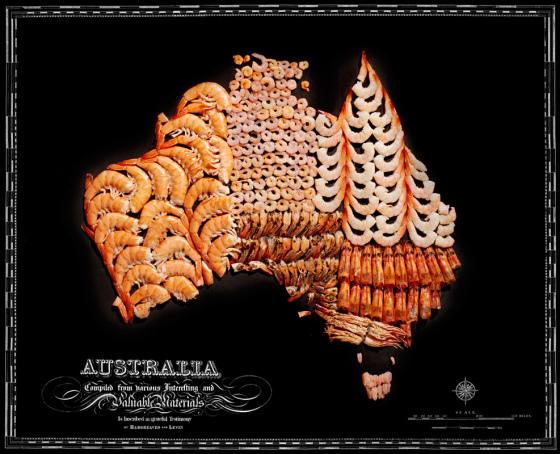 Australia, Shrimp
