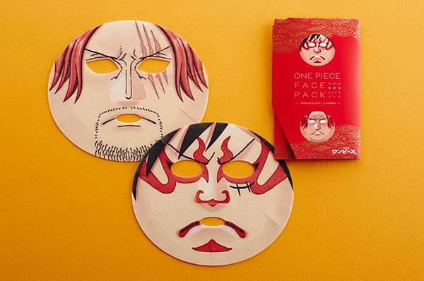 ワンピース歌舞伎フェイスパック