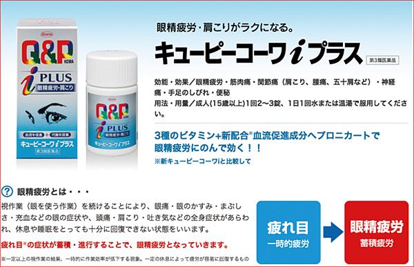 興和新薬Q&P  Kowa Plus維他命