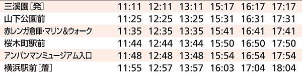 ぶらり三溪園BUS 回程時間表.JPG