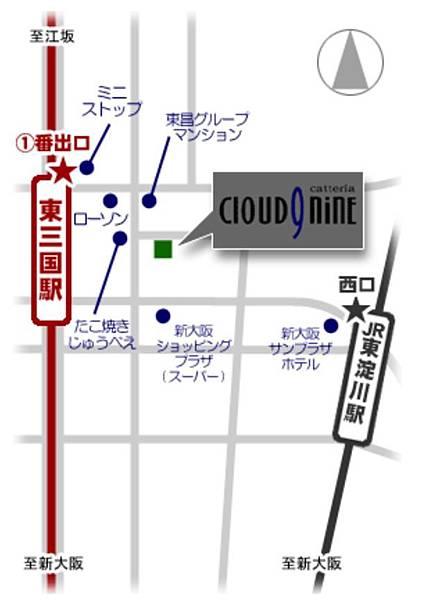 catteria cloud nine地圖.JPG