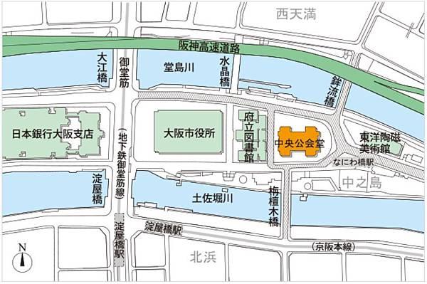 大阪市中央公會堂地圖.JPG