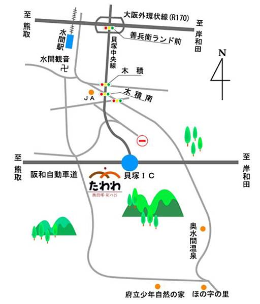 農業庭園たわわ地圖.JPG