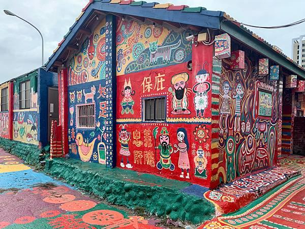 #彩虹眷村#台中南屯景點#台中景點推薦#台中虹の村#Rainbow Village @ 豆子醬遊世界 :: 痞客邦 ::