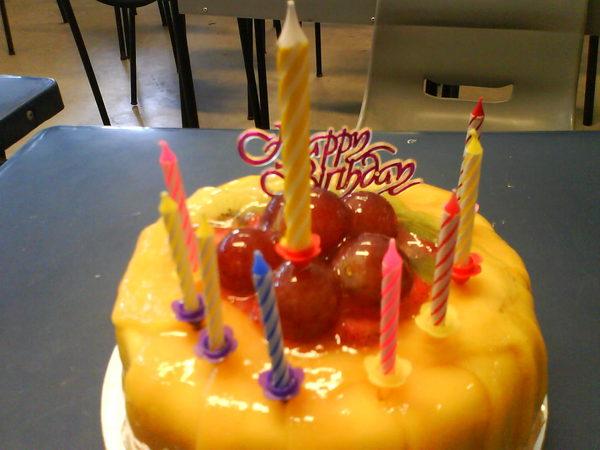 justin 與 niccole 的蛋糕