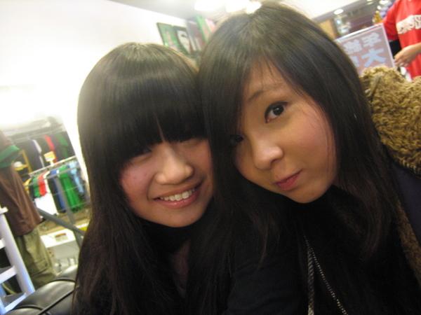 我與steph在臺灣