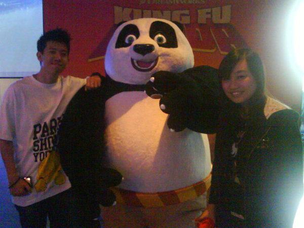 我與eric與panda