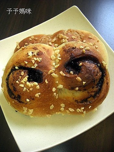 巧克力眼睛&花生豬鼻麵包1