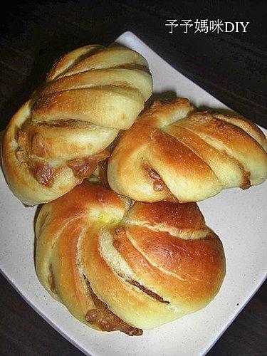 花生花卷麵包2