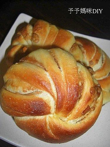花生花卷麵包1