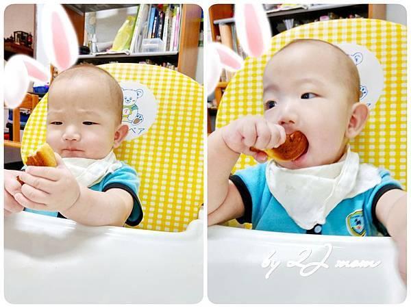尹小子第二次吃麵包.jpg