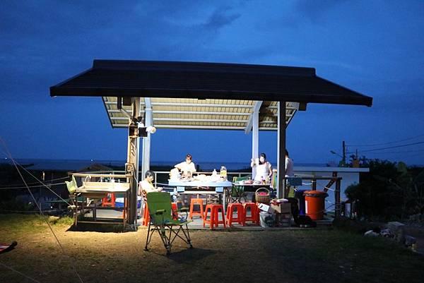 睡海邊露營區26