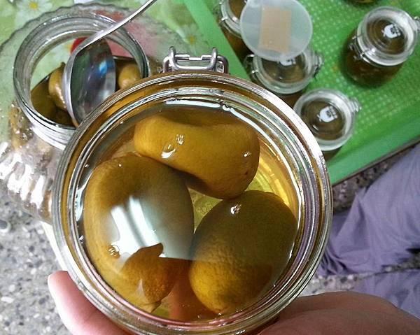 天然手工鹹檸檬