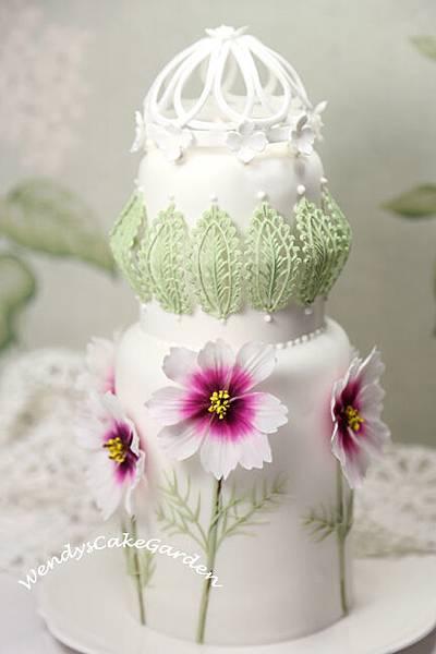 波斯菊蛋糕