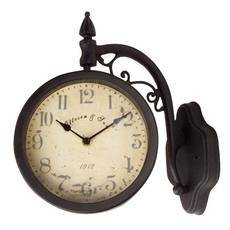 durocraft two sided hanging wall swivel clock2600.jpg