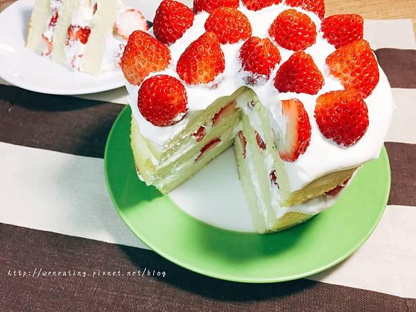 電子鍋草莓蛋糕04.JPG