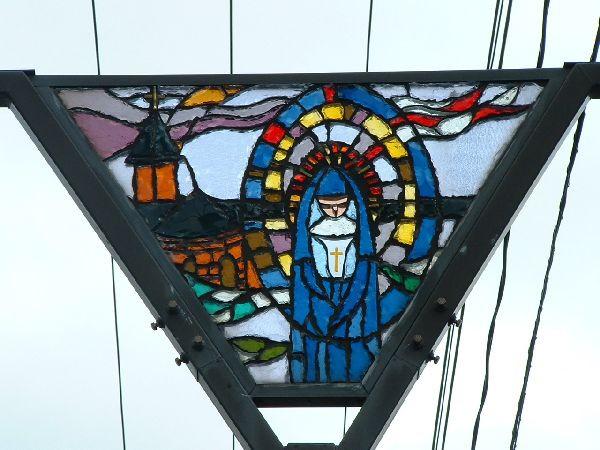 086函館-玻璃彩繪特拉比斯修道院